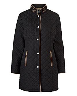 Dannimac Longline Quilted Jacket