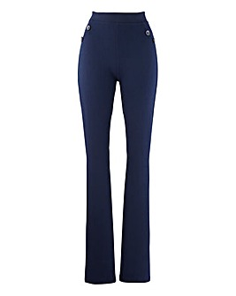 Jersey Kick Flare Trousers Regular