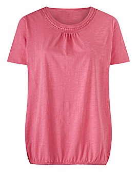 Bubble Hem T-Shirt