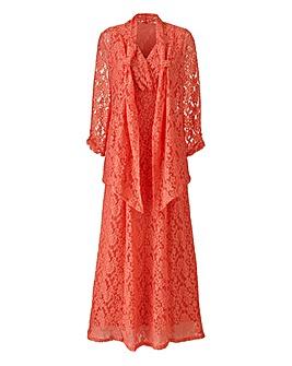 Nightingales Lace Dress and Shrug