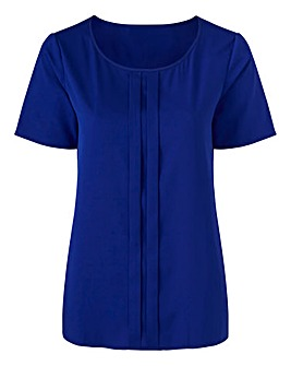 Slimma Blouse with Pleat Detail