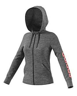 Adidas Essential Linear Full Zip Hoodie