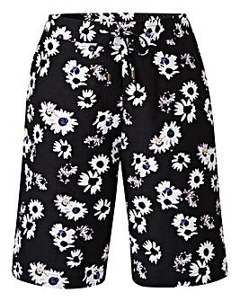 Linen-Mix Shorts