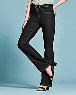 Bootcut Jeans Short