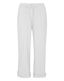 Fashion Linen Trousers Short