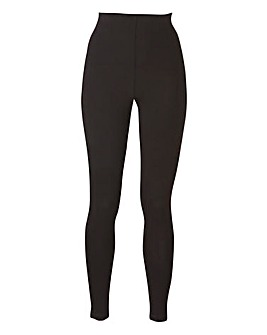 Stretch Jersey Leggings Short