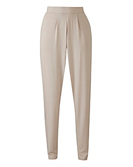 Stretch Jersey Harem Trouser - Short