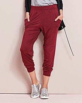 Stretch Jersey Harem Trouser Short