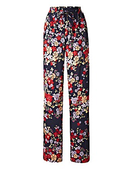 Woven Printed Harem Trousers Short