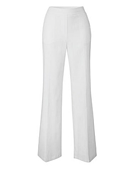 Tailored Wide-Leg Trousers Short