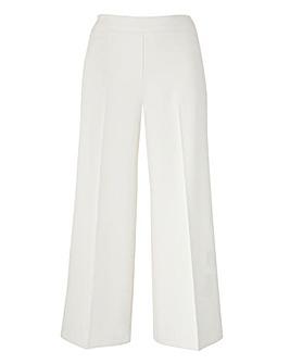 Tailored Wide Leg Crop Trouser