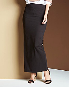Tube Jersey Maxi Skirt
