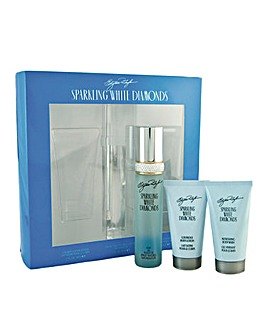 Sparkling White Diamonds EDT 50ml Set
