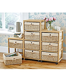 Wheeled Drawer Storage Units