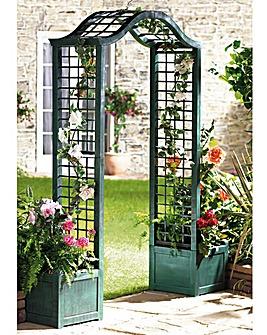 Garden Arch Trellis Planter