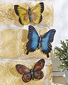 Glow in the Dark Butterflies Set of 3