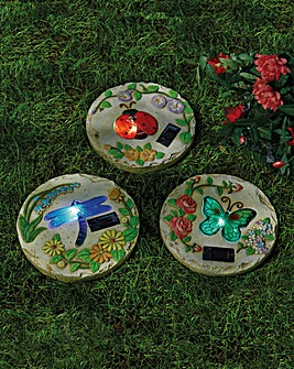 Decorative Garden Plaques Set of 3