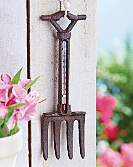 Cast Iron Garden Fork Thermometer