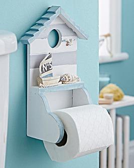 Beach Hut Toilet Roll Holder