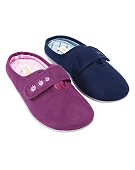 Adjustable Mule Slipper