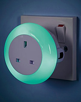 Plug Through Night Light