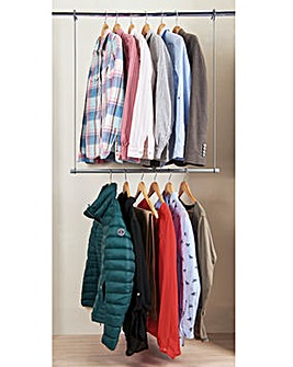 Double Wardrobe Hanger