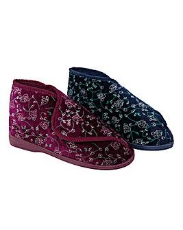 Ladies Floral Bootee
