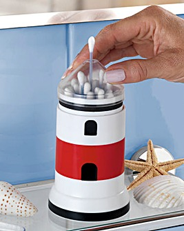 Lighthouse Cotton Bud Dispenser