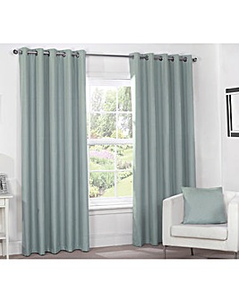Linen Look Thermal Blackout Curtains