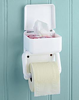 2 in 1 Toilet Roll Holder