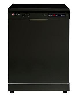 Hoover 16 Place Dishwasher Black