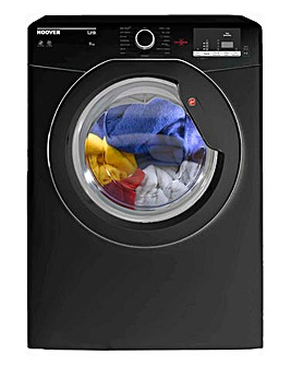 Hoover 9kg One Touch Vented Dryer Black