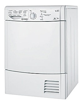 Indesit 8kg Condenser Dryer White