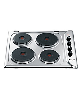 Hotpoint E604X Solid Plate Hob