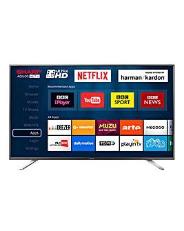 Sharp 49in UHD Smart TV + Installation