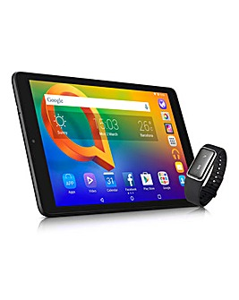 Alcatel 10in Tablet with Fitness Tracker