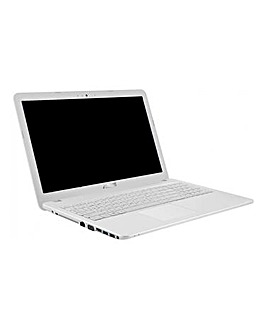 ASUS 15.6in 4Gb 1Tb Laptop White