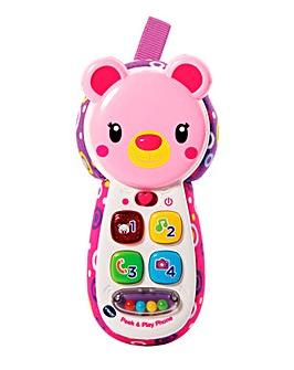 Vtech Peek and Play Phone Pink