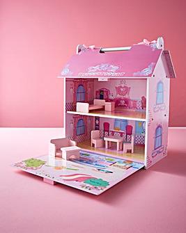 Wooden Mini Dolls House