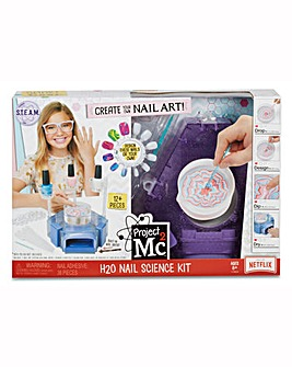 Project Mc2 H20 Nail Science Lab