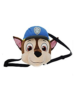 Paw Patrol Head Shaped Plush Backpack