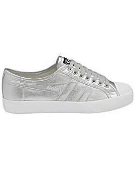 Gola Coaster Metallic retro plimsolls