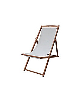 HOME Deck Chair - Cream.