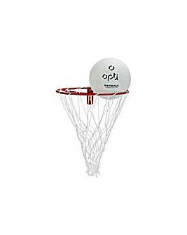 Opti Netball Ring & Ball Set
