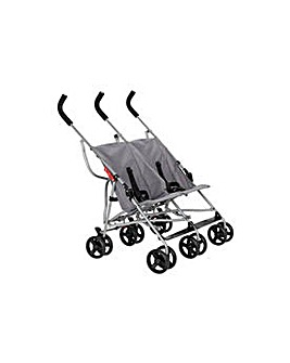 Cuggl Elder Twin Pushchair