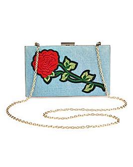 Glamorous Rose Clutch Bag