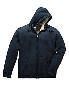 Jacamo Jacob Fur Lined Hooded Top