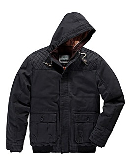 Jacamo Tofino Hooded Bomber Jacket