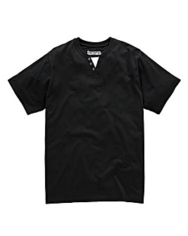 Jacamo Black Layered T-Shirt Long