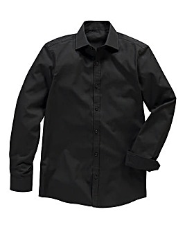 Black Label by Jacamo LS Formal Shirt L